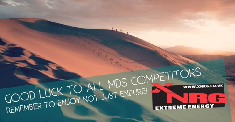 Good luck to all MDS competitors